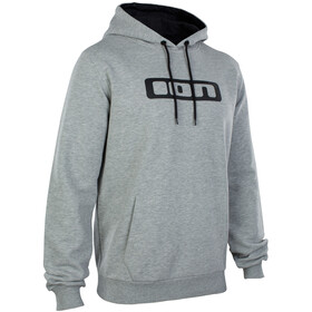 ION Logo Hoody Men grey melange